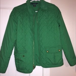 polo ralph lauren water-resistant barn jacket